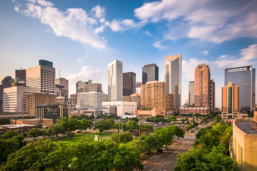 Header - Houston Texas Skyline